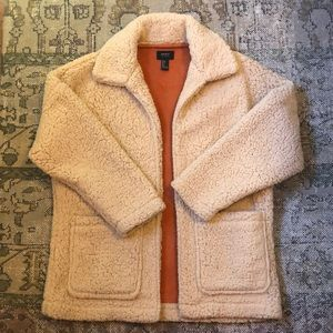 Tan Sherpa Coat Forever 21